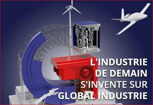 100 000 mètres carrés, 2 500 exposants : quatre salons en un à Eurexpo, «Global Industrie»