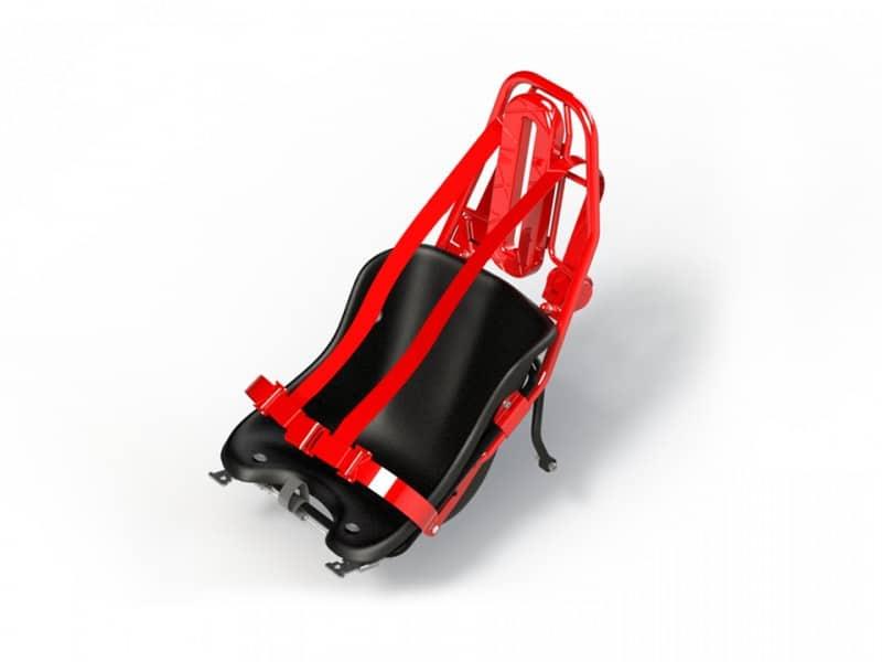 Arceau de sécurité qui équipe la nouvelle génération de karting électrique OnlyKart