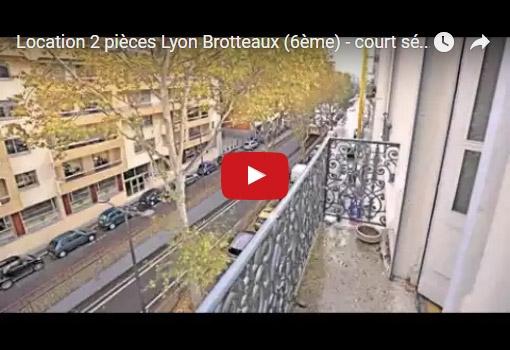 2 pièces à louer à Lyon 6 ème Brotteaux pour séjour de courte durée