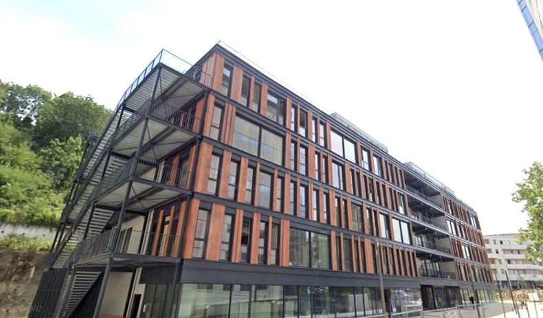 Fifty Five, un nouvel immeuble du bureaux de 5 500 m² livré dans le 9ème arrondissement de Lyon: bureaux privatifs et coworking