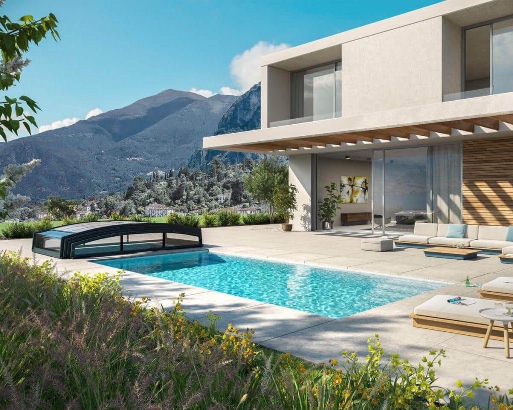 abri piscine france abris avantages abri piscine sécurité piscine protéger son bassin