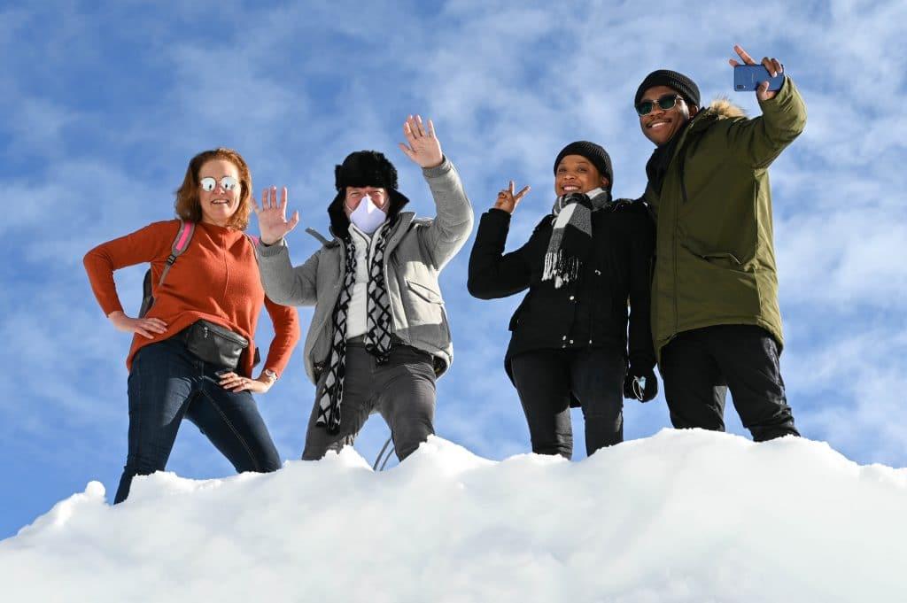 Les JA font du ski à Villard-de-Lans [Action sociale étudiants]