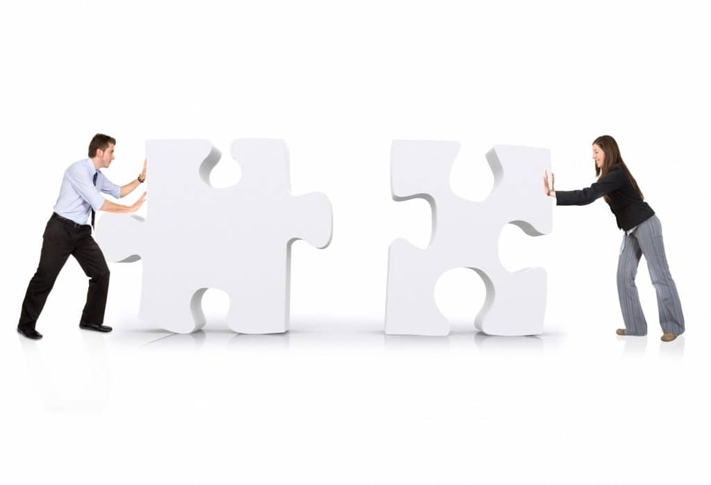 S'associer, ce n'est pas juste vivre une aventure l'un à côté de l'autre, mais l'un avec l'autre