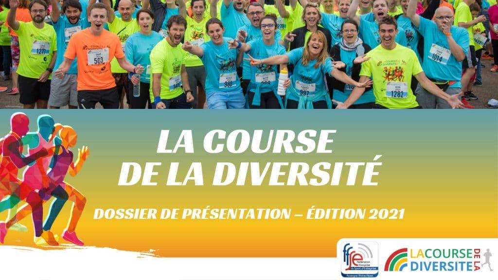 L'édition 2021 de la Course de la Diversité est lancée – RDV le 24/09/2021 [Ligue AURA de la FFSE]