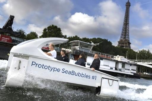 Les bateaux-taxis électriques et bientôt hydrogène, Sea Bubblesrepris par un fonds d'investissement lyonnais