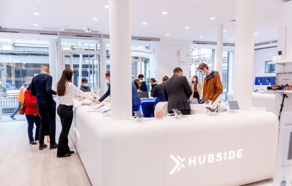 Surfant sur la vague de l'économie circulaire, Hubside.Store ouvre un magasin high tech, place de la République à Lyon ; mais aussi 50 autres…