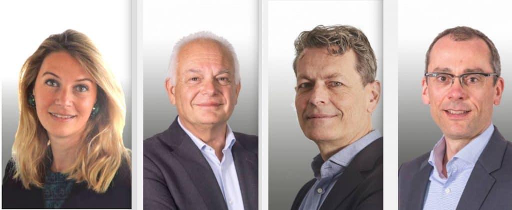 Le comité exécutif de SEB accueille quatre nouveaux membres : Philippe Schaillée, Cathy Pianon, VincentRouilleret Philippe Sumeire