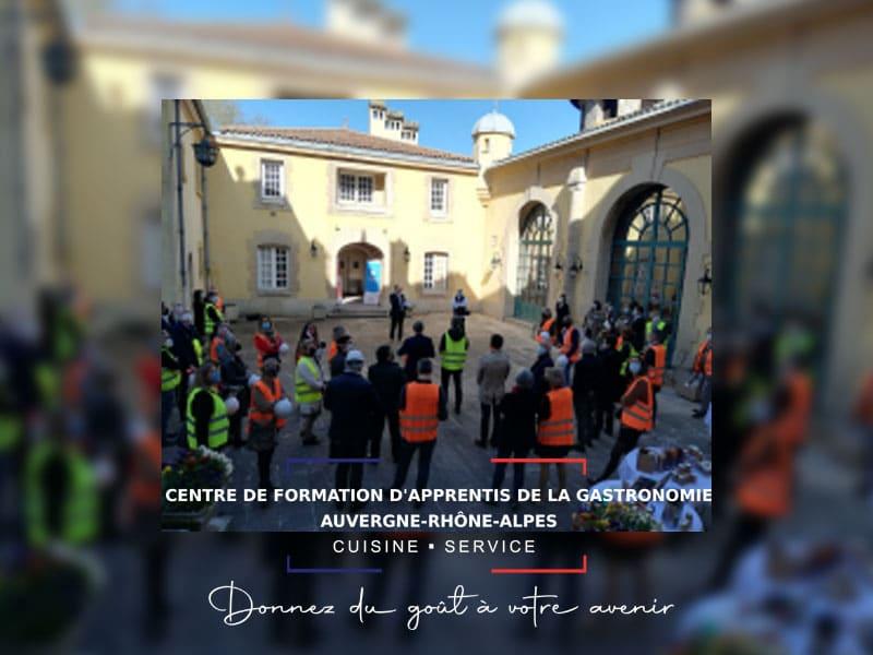 CFA de la Gastronomie : état des lieux du château de Lacroix-Laval [Communiqué]
