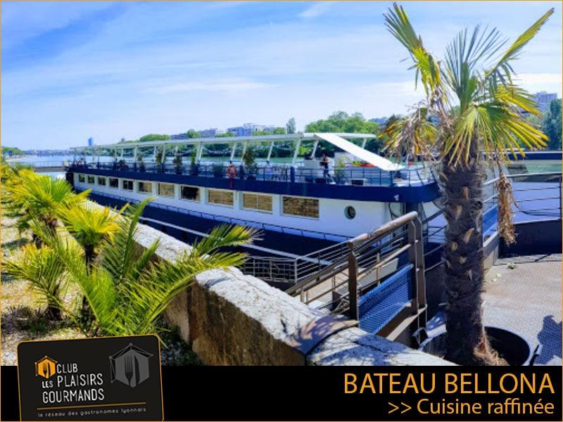 Jeudi 10 Juin : 27ème déjeuner du Club au restaurant Bateau Bellona [Club Les Plaisirs Gourmands]