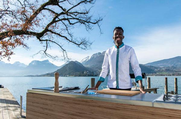 Mory Sacko, chef étoilé et roi de la street food, installe un restaurant éphémère à Lyon le 9 juin