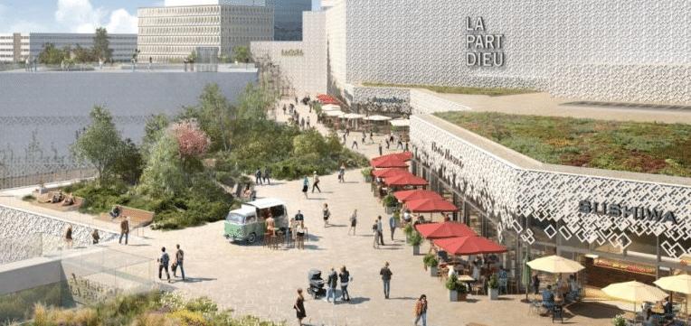 25 restaurants : le nouveau  Rooftop végétalisé du centre commercial de la Part-Dieu ouvre le 9 juin