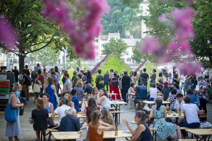 Aux Subsistances, la plus grande terrasse de Lyon déploiera mercredi près de 1 000 m2