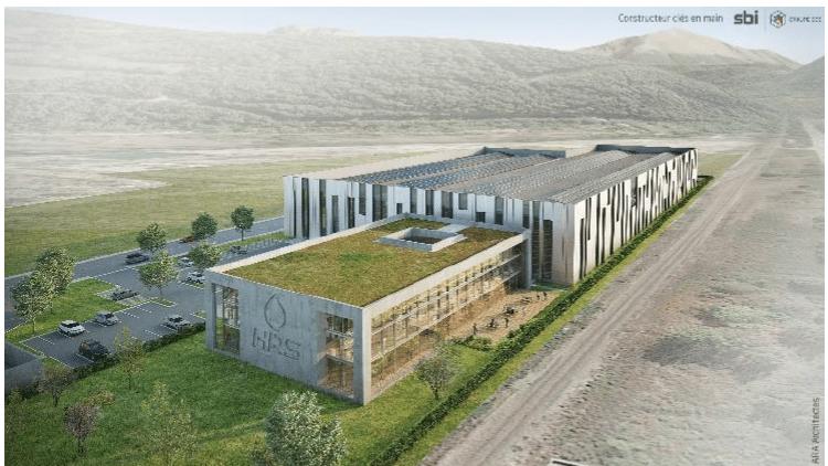 Lyon-Entreprices: Hydrogène : HRS va construire à Grenoble l'un des plus grands centres de production et de recherche en Europe.