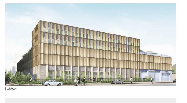 """Le promoteur em2c signe le premier """" immeuble de logistique totalement intégré"""" de Lyon avec une ferme urbaine en toiture"""