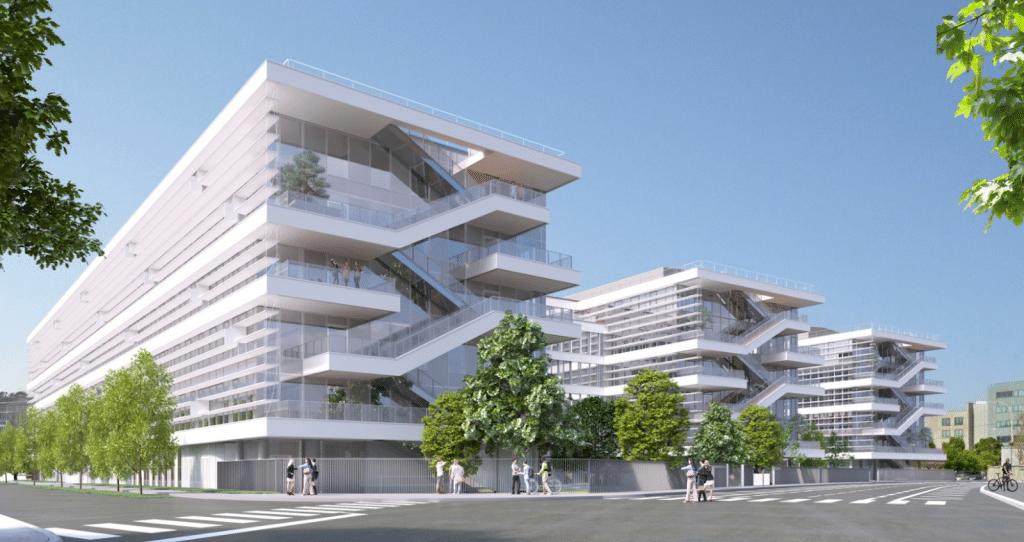 JLL commercialise le Campus tertiaire Urban Garden soit 28 000 m² situés au cœur du biopôle de Lyon Gerland