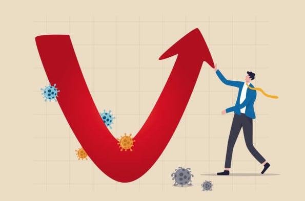 Face à l'économie qui repart fort, une reprise pavée de risques