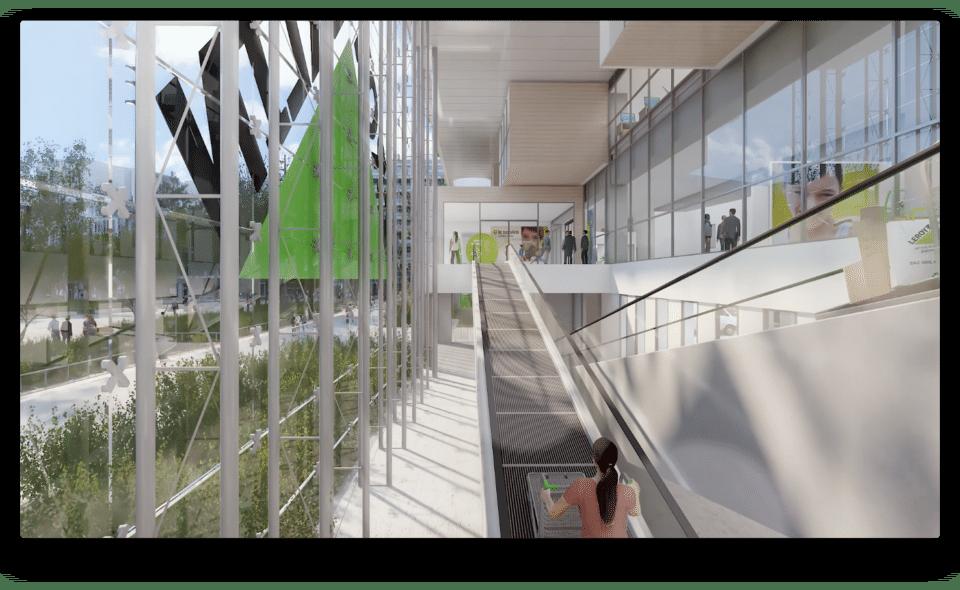 Face au nouvel Ikea : Leroy Merlin va bientôt inaugurer son nouveau magasin de Grand Parilly à Vénissieux