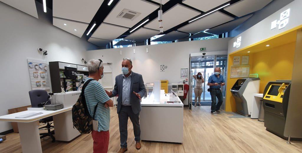 La Poste ouvre à Lyon son premier bureau exclusivement dédié aux professionnels