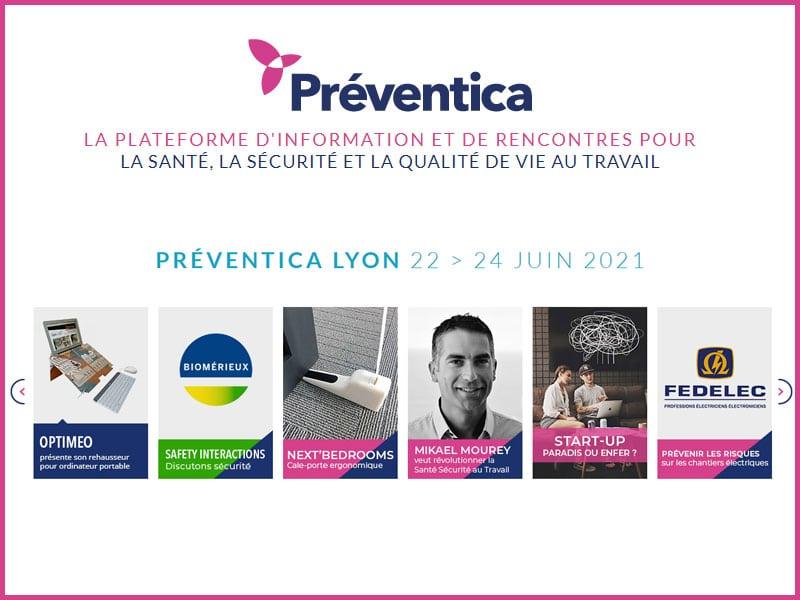 Préventica Lyon 2021 démarre demain : du 22 au 24 juin, ré-organiser la vie au travail pour réussir son entreprise de demain