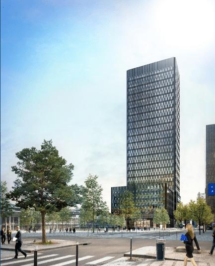 La dernière grande tour (170 mètres) à Lyon ? Les travaux de To-Lyon à la Part-Dieu ont débuté