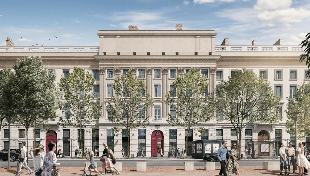 Bellacorte : nouveau programme immobilier de 3000 m² place Bellecour signé Promoval & Mediprom