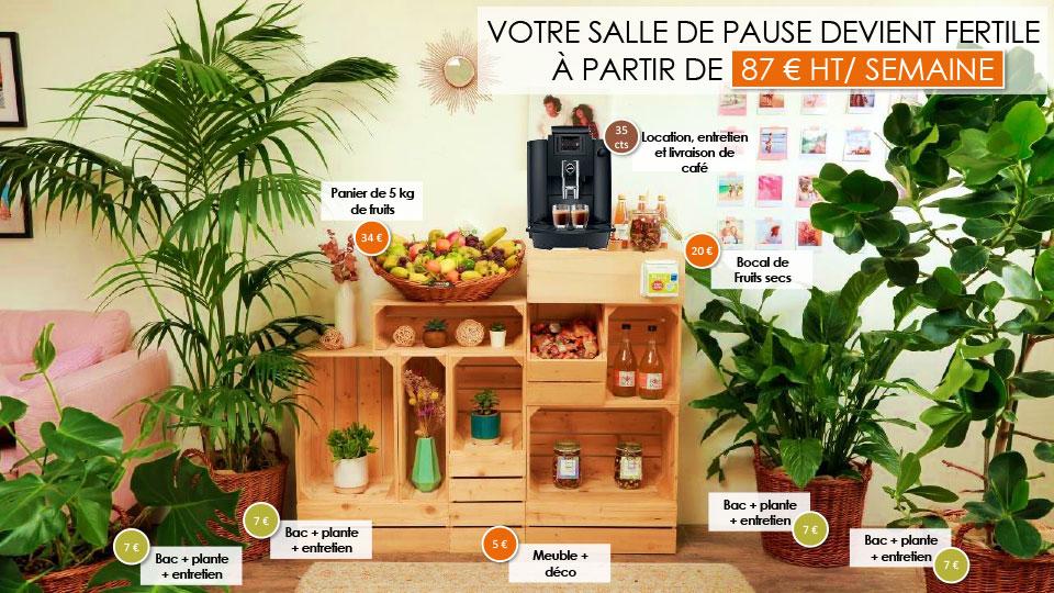 Réformez votre salle de pause : choisissez une salle de pause fertile !