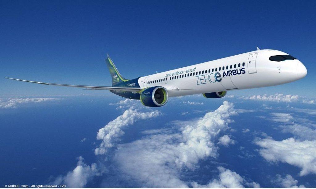 On y testera notamment le futur Airbus Zéro émission :  l'aéroport de Lyon-Saint Exupéry transformé en hub hydrogène