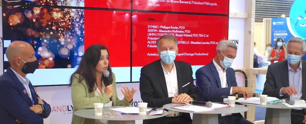 Développement et transformation de l'industrie : une vingtaine d'entreprises signent un manifeste avec la Métropole de Lyon