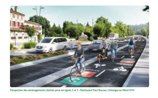 La Métropole lyonnaise se dote d'un RER…vélo pour 100 millions d'euros, tandis que la circulation automobile se dégrade fortement