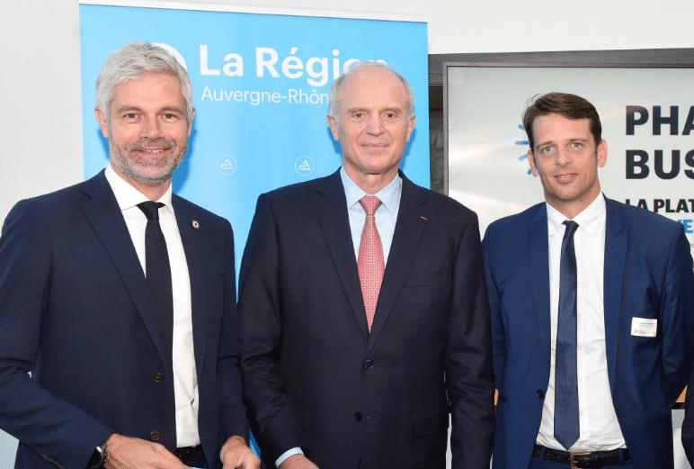 Franck Colcombet, le Pdg de Tecalemit prend la présidence du bras armé économique de la région Auvergne-Rhône-Alpes