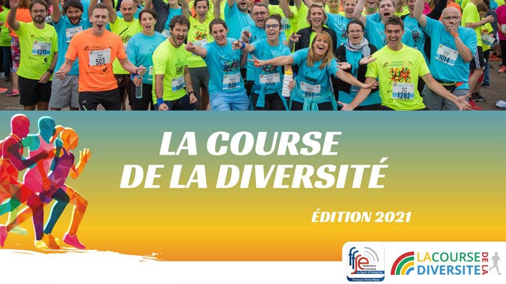 Inscrivez votre entreprise à La Course et faites preuve de Diversité ! [24 Septembre 2021]