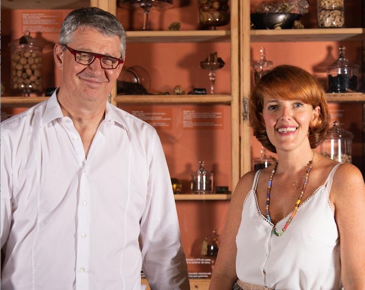 Une directrice à la Cité du chocolat Valrhona de Tain l'Hermitage : Aurélie Roure