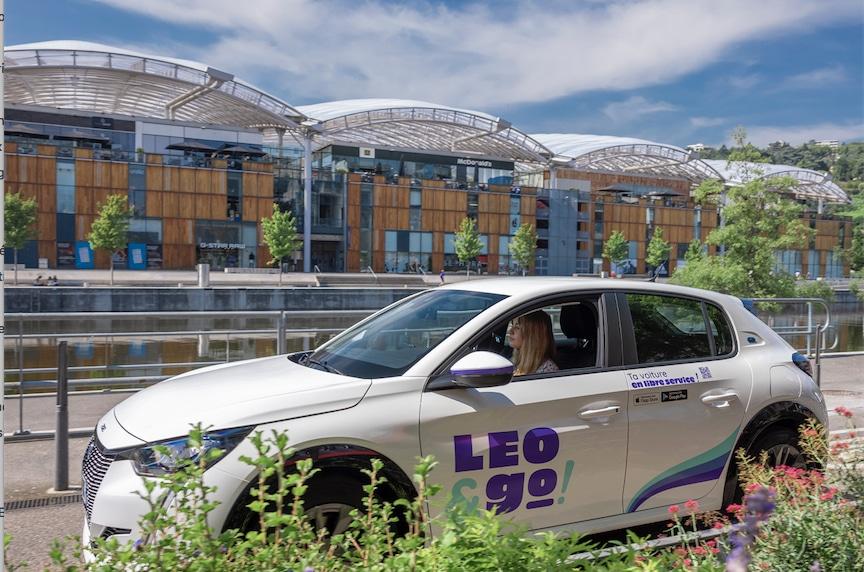 """Après l'échec de Bluely de Bolloré, Vulog lance à Lyon son service d'autopartage automobile : """"Leo & Go"""""""