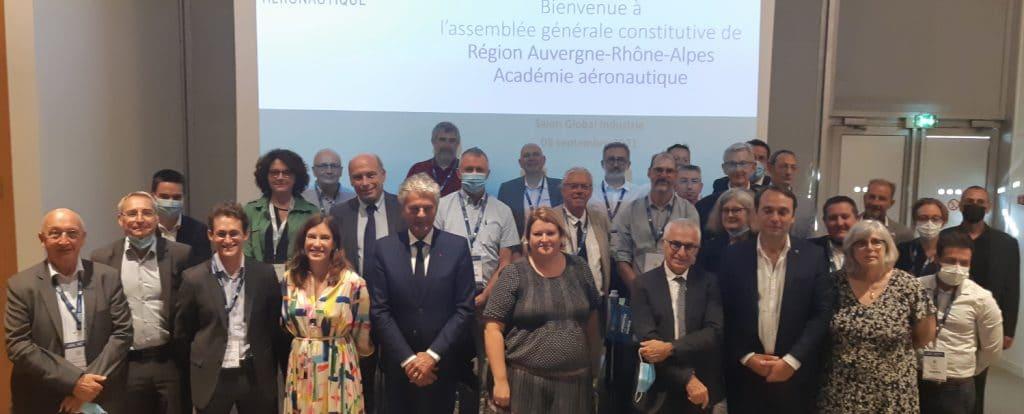 """Lancement d'une """"Académie de l'aéronautique Auvergne-Rhône-Alpes"""""""