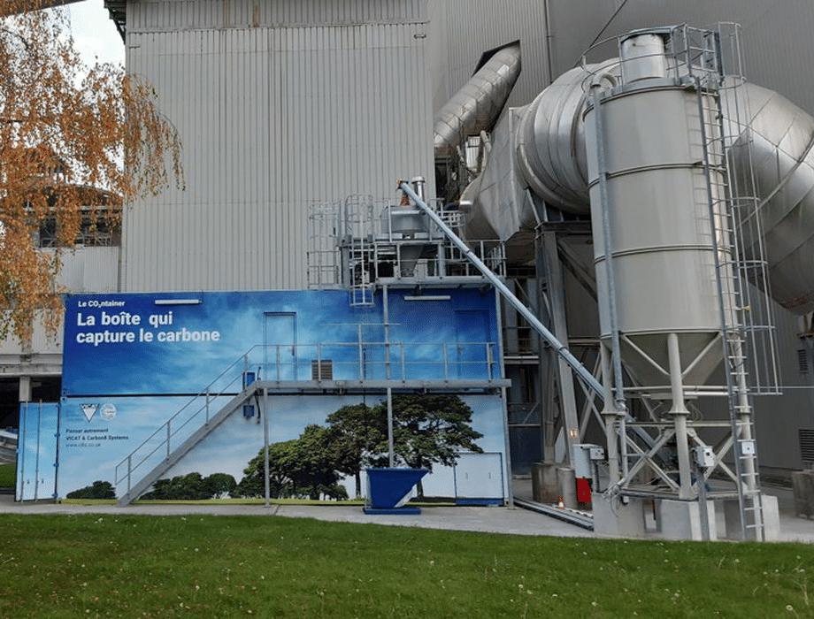 Via un partenariat avec EDF et une capture de CO2, le cimentier isérois Vicat va produire du méthanol décarboné