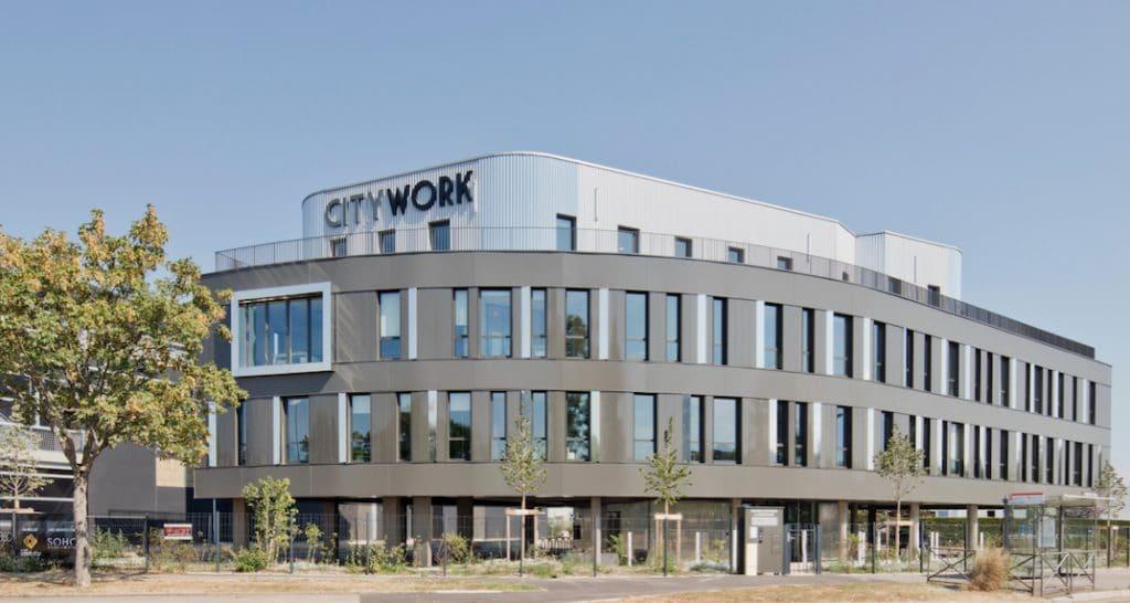 CityWork investit 5,6 millions d'euros dans un 4ème centre d'affaires à Dardilly