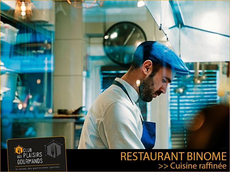 Mardi 28 Septembre 2021 : Déjeuner Network #111 au restaurant Binome