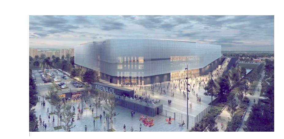 Feu vert définitif de la Métropole de Lyon pour la création de l'OL Arena de 16 000 places à Décines