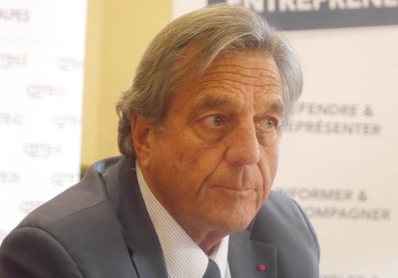 """François Turcas va quitter la présidence de la CPME du Rhône et de la région après 30 ans de """"règne"""""""