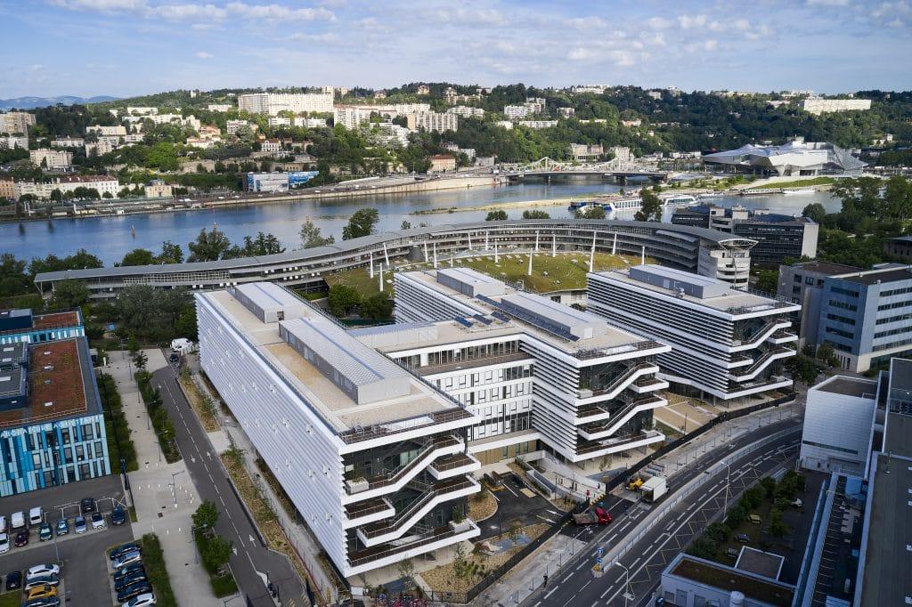 """ENGIE regroupe ses services de la Métropole lyonnaise sur 22 000 m² , au sein du nouvel ensemble  de bureaux """"Urban Garden"""" à Lyon-Gerland"""