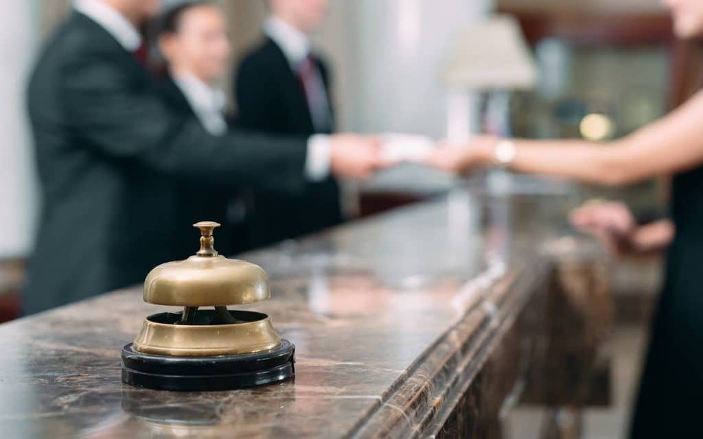 hôtel hôtellerie réservation réception