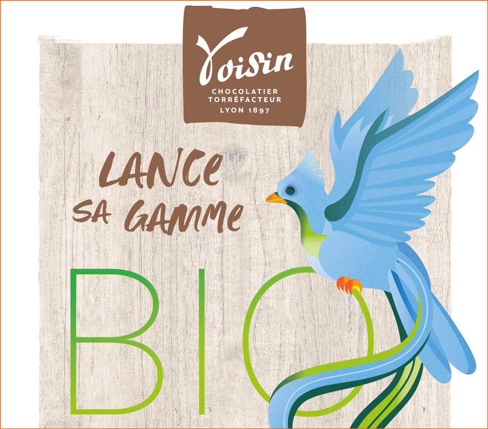 La Maison VOISIN confirme son engagement responsable et lance sa gamme bio