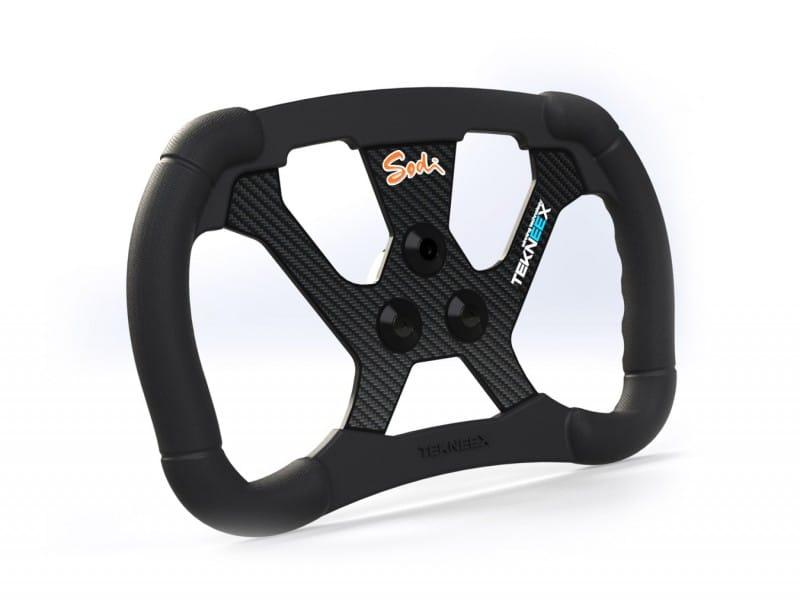 Volant F1 Carbone sur les kartings de nouvelle génération OnlyKart