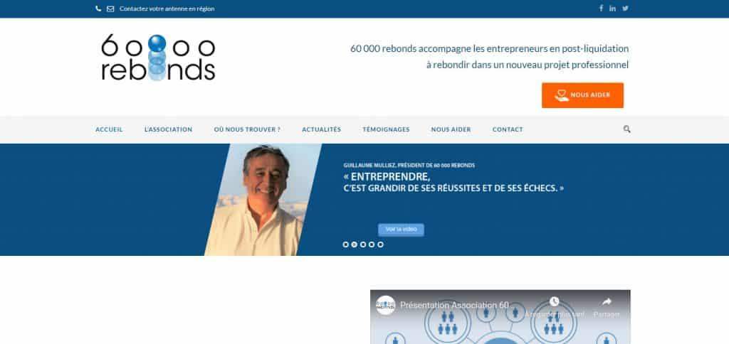 """""""60 000 rebonds"""" : une association nationale qui permet aux entrepreneurs ayant fait faillite de rebondir"""