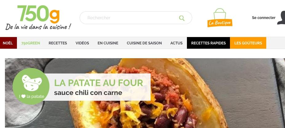 750 grammes qui pèsent lourd: SEB rachète un éditeur de sites et de services culinaires
