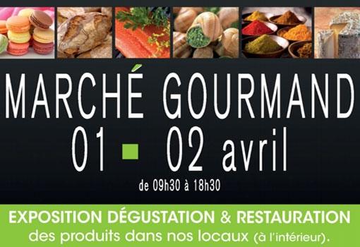 7ème Marché Gourmand les 01 et 02 Avril 2017 à la Cave de Bissey