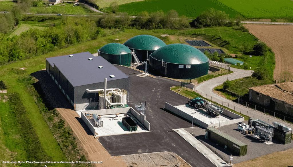 Biogaz : près d'une centaine de sites de méthanisation devraient voir le jour en Auvergne-Rhône-Alpes d'ici 2023