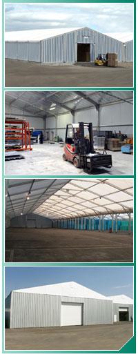Abri et bâtiment de stockage : bâtiment modulaire et démontable