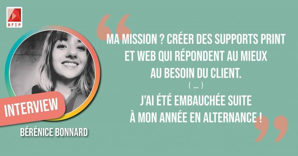 """""""Mon premier job dans le web"""" retour d'expérience de Bérénice BONNARD [Interview]"""