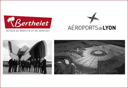 Aéroport de Lyon engage sa transition énergétique au gaz bioGNV avec Berthelet